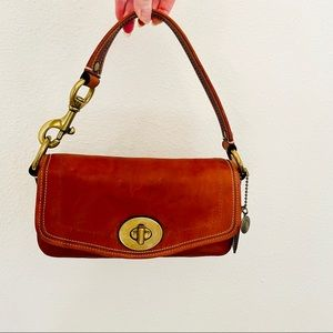 Coach Legacy turnlock flap bag